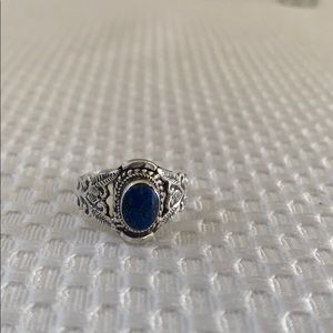 Jewelry - Sterling silver lapis lazuli ring